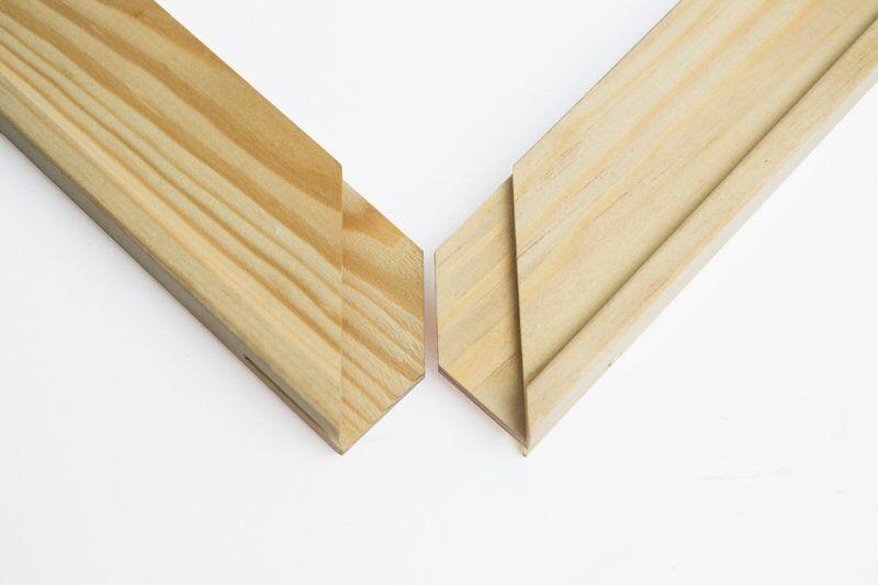 планка для подрамника овальная фото решение